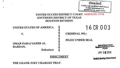 Acusación Omar Faraj Saeed Al Hardan