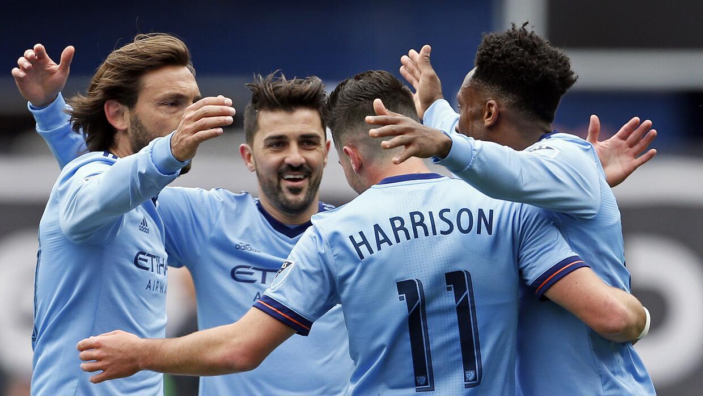 Pese a no marcar goles, Villa fue fundamental para la victoria de NYCFC.