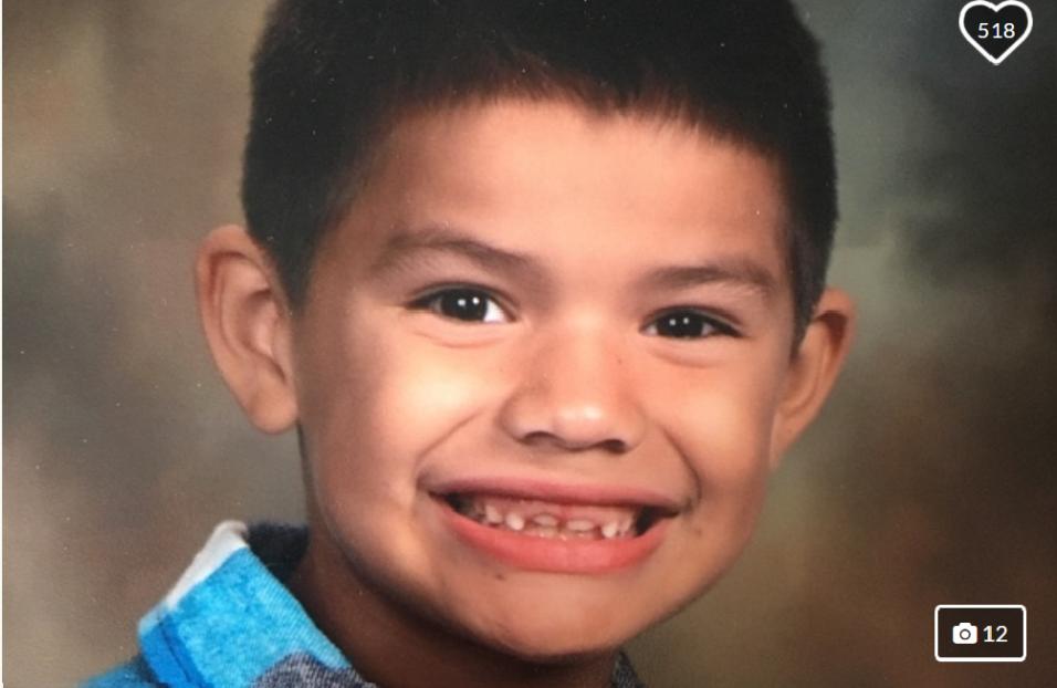 Con apenas 7 años de edad, Cisco Galvez falleció por una c...