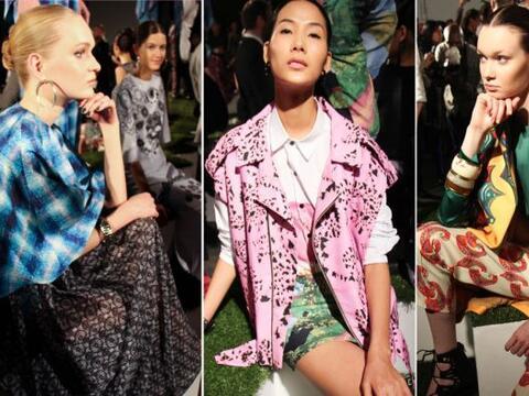 Las últimas tendencias en moda ya han comenzado a presumirse en l...