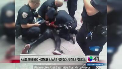 Hombre araña fue arrestado en Times Square