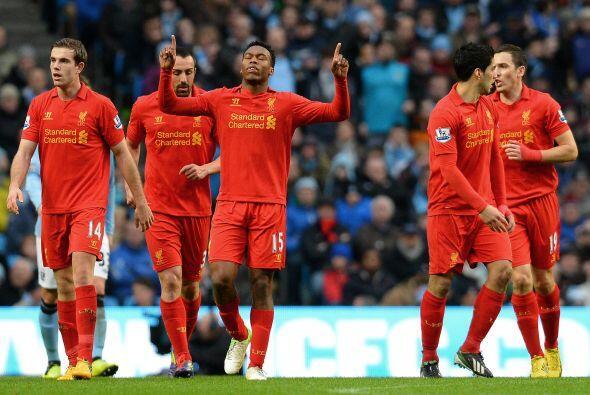 Liverpool estaba dando de qué hablar en la casa del City.