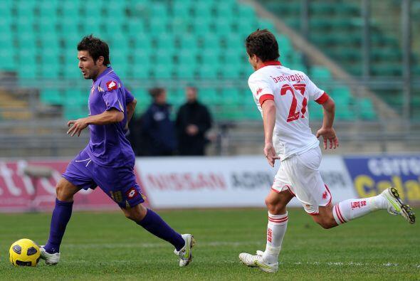 Fiorentina visitó al Bari en busca de valiosos puntos.