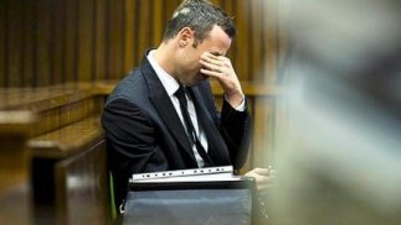 Pistorius está en juicio.