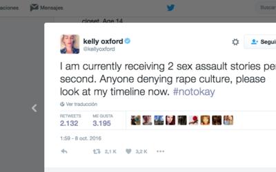 """""""Recibo dos historias de abusos sexuales por segundo"""""""