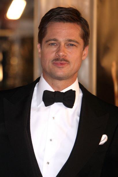 Se dejó crecer el bigotito en 2009 para actuar bajo órdenes de Quentin T...