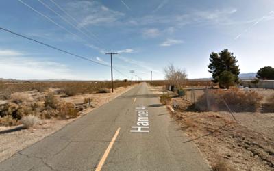 Zona rural de Littlerock donde fueron encontrados los cadáveres.