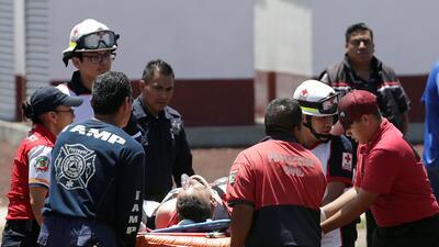 En fotos: Dos explosiones en un depósito de fuegos artificiales deja 19 muertos en el centro de México