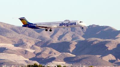 Un avión de Allegiant Air. (Imagen de Archivo).