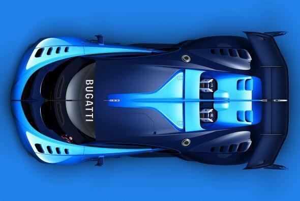 Para saber más detalles del Bugatti Vision Gran Turismo hay que esperar...