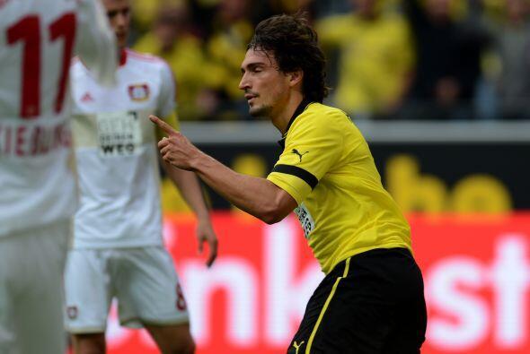 Desde la Bundesliga alemana llega el zaguero Mats Hummels del Borussia D...