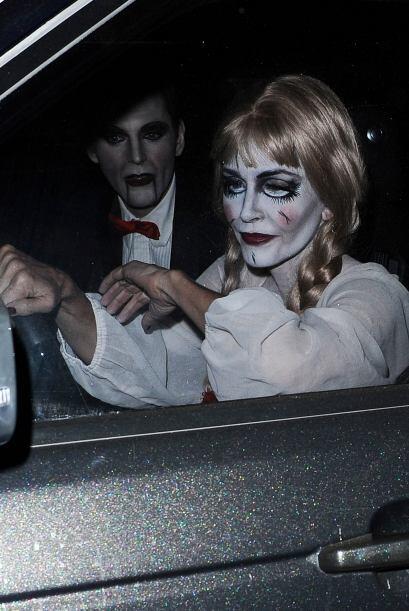 Así viven las 'celebrities' el Halloween