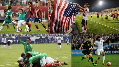 Así han sido los últimos 10 enfrentamientos entre México y Estados Unidos