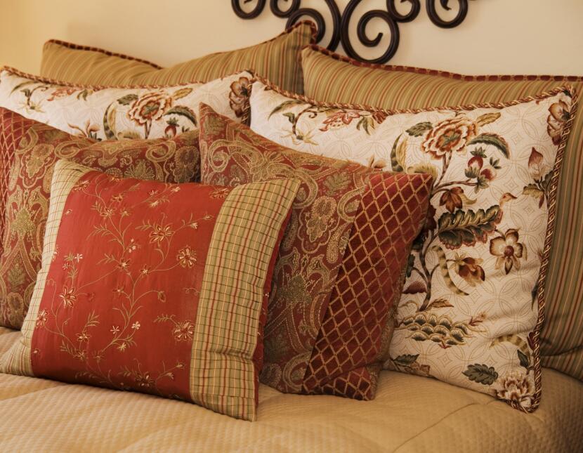 Los cojines son un complemento decorativo fantástico para cualquier dorm...