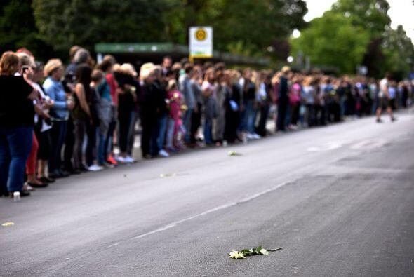 La repatriación de los cuerpos se da 11 semanas después del accidente.