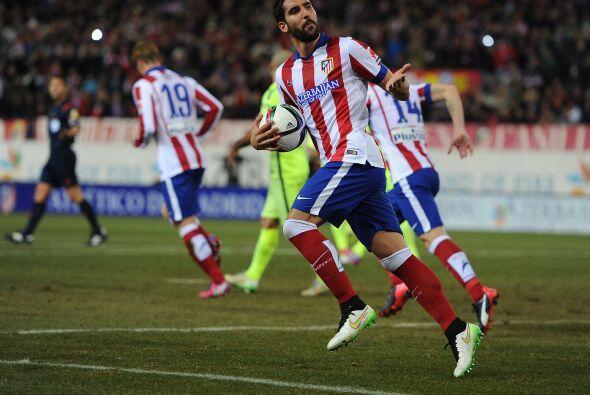 García empujó a sus compañeros al igual que el 'Cholo' Simeone para ir p...