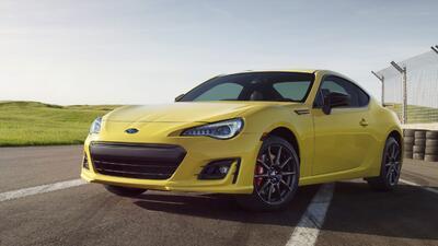 Fotos del Subaru BRZ Series. Yellow 2017