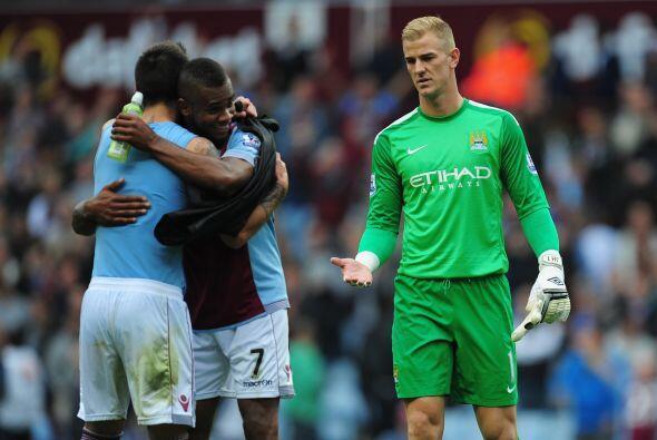 En otro resultado algo sorpresivo el Aston Villa ganó al Manchester City...