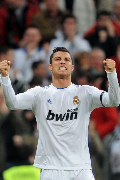 El segundo lugar fue para Cristiano Ronaldo. Pobre el portugués, siempre...