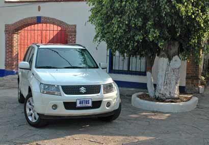 La Grand Vitara tiene un manejo cómodo y seguro en la ciudad y en carret...