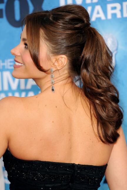 ponytails de las famosas