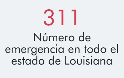 John Bel Edwards, gobernador de Luisiana, habilitó el 311 para cu...