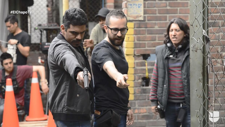 Los peligros que corre un actor en las escenas de acción de la serie 'El...