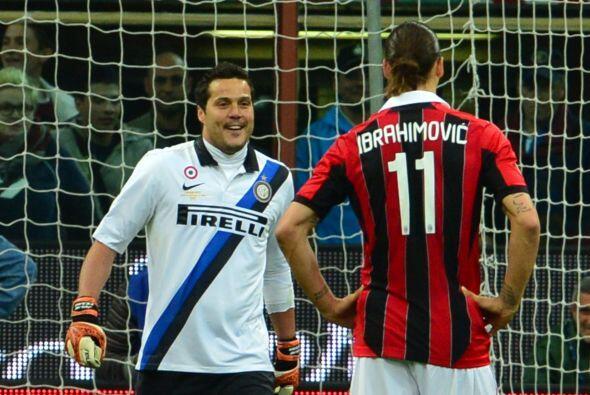 El guardameta del Inter de Milán vivió de todo en el 'derby' ante el Mil...