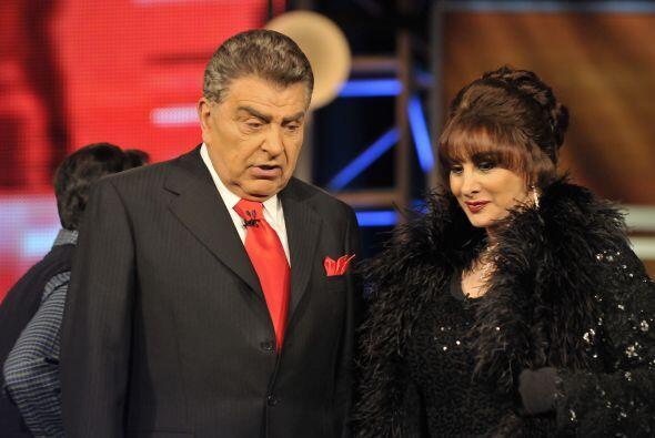 La malvada Susana Dosamantes no podía faltar en este fin de telenovela.