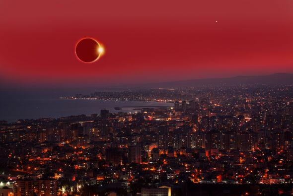 El eclipse es ese momento espectacular en que el Sol, la Tierra y la Lun...