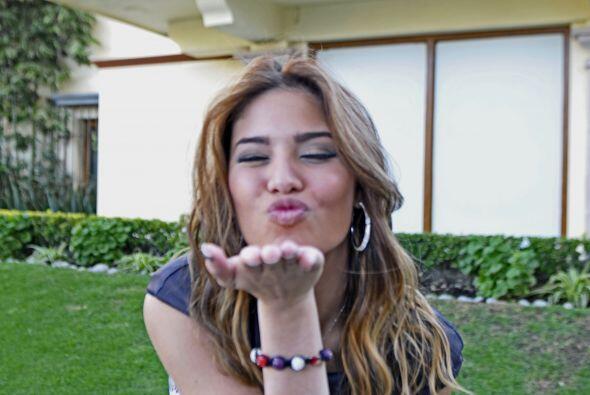 Pero a las cámaras de Univision.com, quien más lo gozó fue la puertorriq...