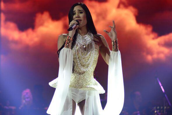 "La cubana eligió ""En cambio no"" para cantarle a Pausini."