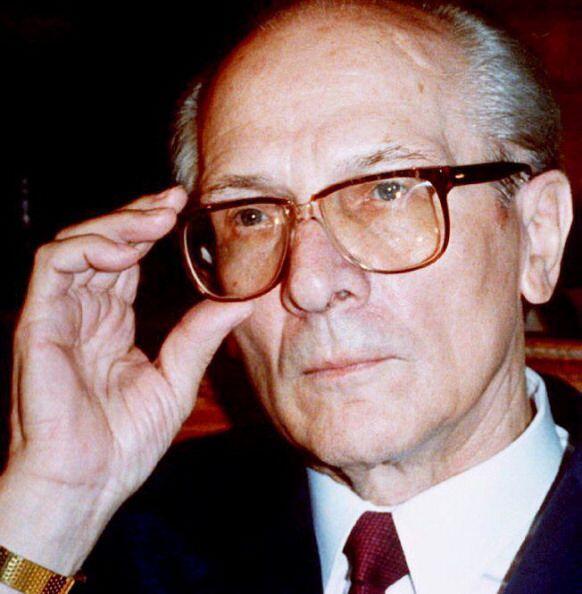 Erich Honecker, ex líder de Alemania del Este  En Chile vivió sus último...