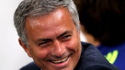 ''Sólo saldré de aquí cuando quieran que me vaya'', aseguró Mourinho.