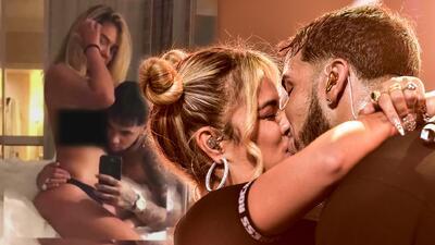 Anuel AA responde a las críticas por la foto con Karol G en cama y semidesnudos