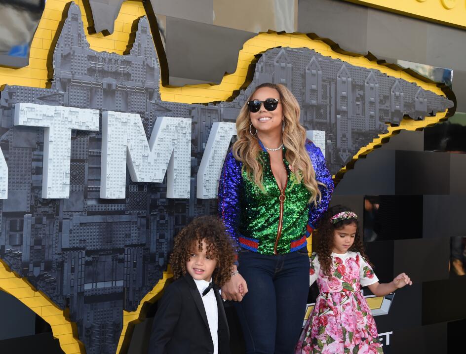 Mariah Carrey tiene la custodia principal de sus gemelos, Morrocco y Mon...