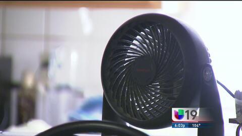 Inquilinos denuncian la falta de aire acondicionado