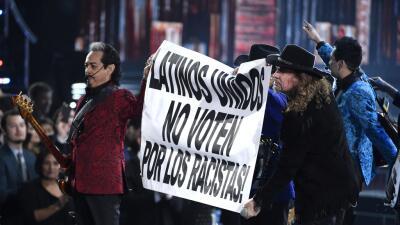 Maná y Los Tigres del Norte llamaron a no votar por racistas