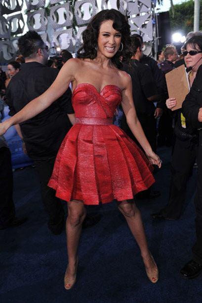 """Jacky Bracamontes fue la presentadora de los """"Premios Juventud"""" 2010."""