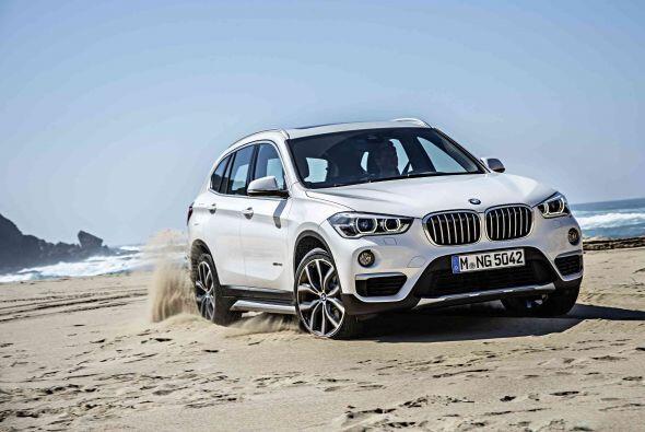 La marca alemana presentó la segunda generación del BMW X1...
