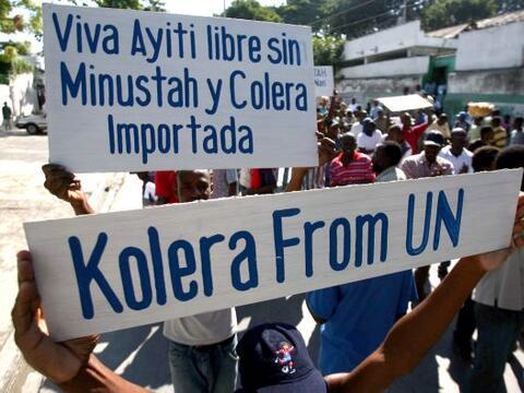 La violencia contra la presencia de la ONU se extendió el jueves...