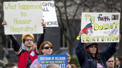 Protestas Indiana.