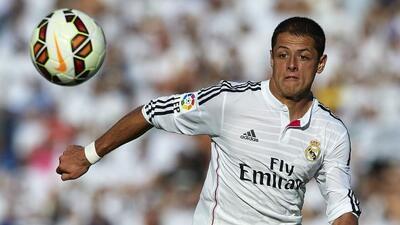 El 'Chicharito' es llamado el ''hombre invisible del Madrid' por la pren...