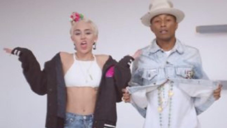 Pharrell Williams estrenó su video 'Come Get It Bae' junto a la siempre...