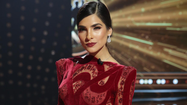 Alejandra Espinoza en el programa final de La Banda