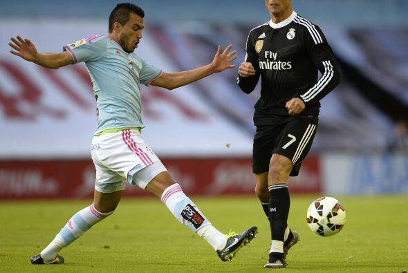 Tras el empate, la delantera de Real Madrid se mostró peligrosa comandad...