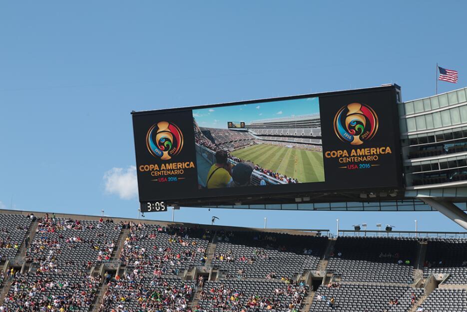La Copa América Centenario hizo vibrar a Chicago.