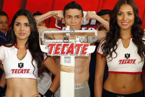Ulíses Solís paró la balanza en 111 lbs.