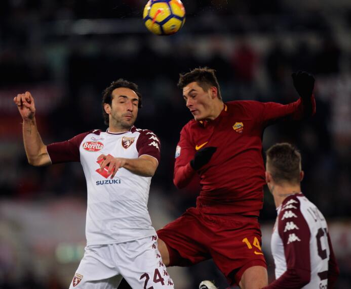 En fotos: Héctor Moreno fue titular en eliminación de Roma en casa contr...