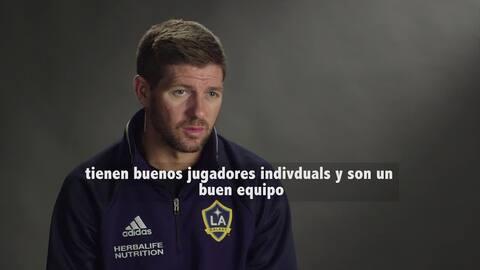 "Steven Gerrard: ""Queremos ser el primero de la MLS en ganar la Champions..."